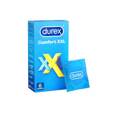 Durex Comfort XXL 6 pezzi - preservativi extra large