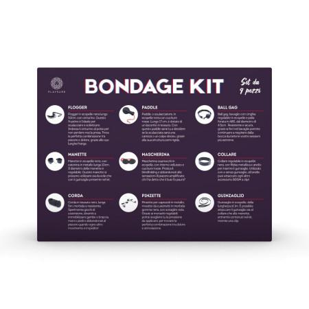 Playsure Bondage Kit - 9 pezzi