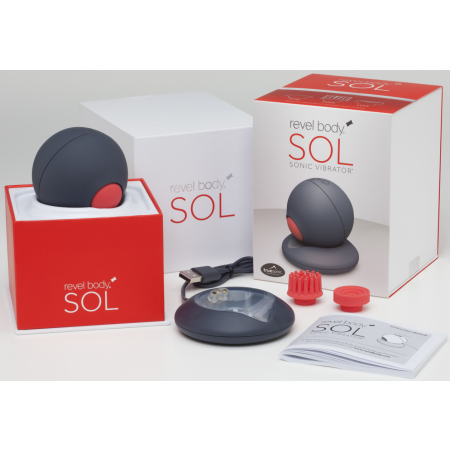 Revel Body Sol Sonic - stimolatore clitorideo