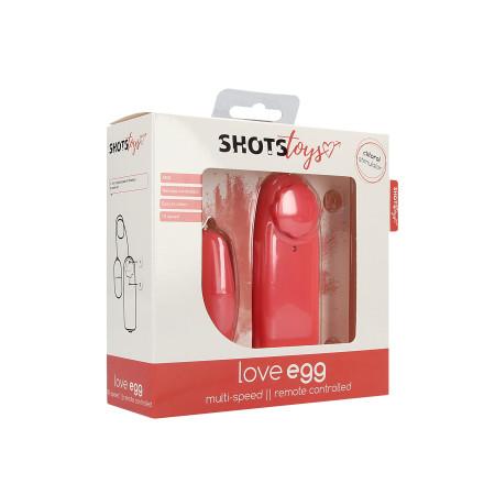 Ovetto vibrante Love Egg Shots Toys