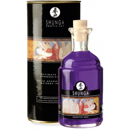 Shunga Aphrodisiac Oil Grapes - olio da massaggio edibile