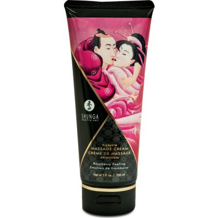 Crema da massaggio edibile Edible Massage Cream Raspberry Shunga