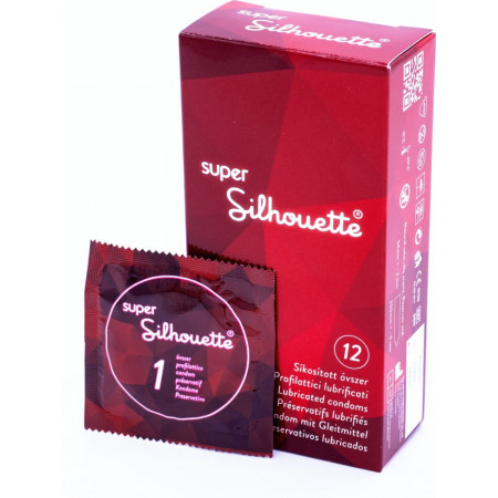Silhouette Super - preservativi classici large