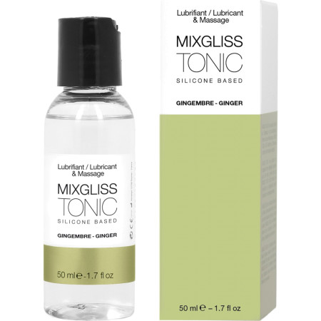 Lubrificante 2in1 a base siliconica Tonic - Ginger Mixgliss