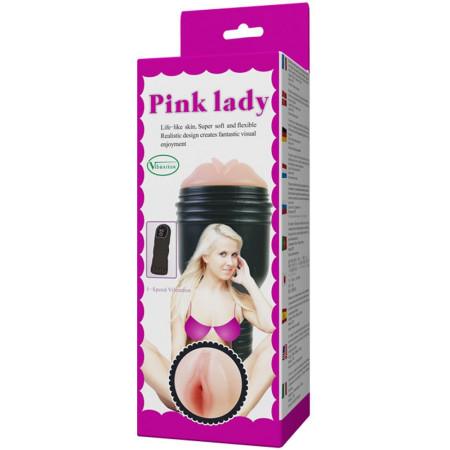 Masturbatore uomo vibrante Pink Lady Baile