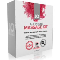 Kit per massaggi All-in-one Massage Kit System JO