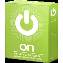 Preservativi aromatizzati Fruit & Color On!