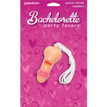 Fischietto scherzoso Pecker Party Whistle Bachelorette