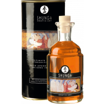 Olio da massaggio edibile Aphrodisiac Oil Orange Fantasy Shunga