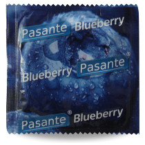 Pasante Blueberry preservativo gusto mirtillo