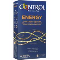 Control Adapta Energy preservativi stimolanti effetto caldo