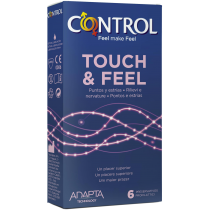 control touch & feel preservativi stimolanti