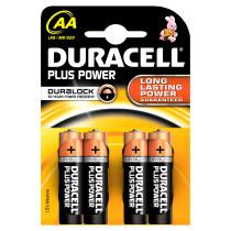 Duracell Plus Power AA - 4 batterie LR6 MN1500