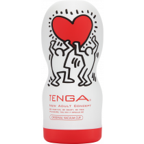 Tenga Keith Haring Deep Throat - masturbatore da uomo