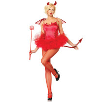 Leg Avenue accessori Red Devil - accessori costume diavoletta