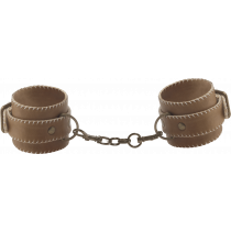 Ouch! Leather Hand Cuffs - Manette