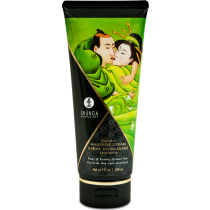 Crema da massaggio edibile Edible Massage cream Pera & Green Tea Shunga