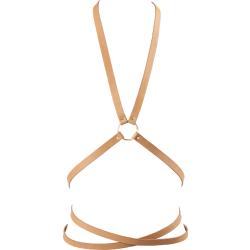Kit bondage Bijoux Indiscrets Maze Multi-way Body Harness Marrone