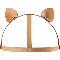 Kit bondage Bijoux Indiscrets Maze Cat Ears Headpiece  Marrone