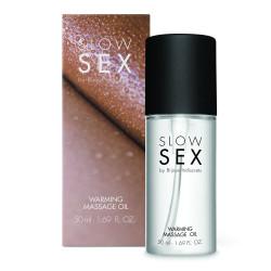 Olio per massaggio Slow Sex - Warming Massage Oil Bijoux Indiscrets