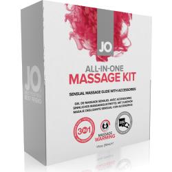 Kit per massaggi All-in-one Massage Kit System JO