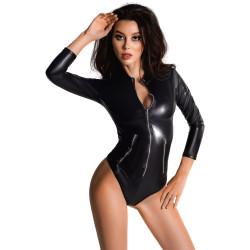 Body elegante in similpelle Glossy Alessia