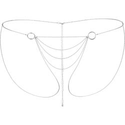 Accessorio Sexy Bijoux Indiscrets Magnifique BIkini Chain Argento