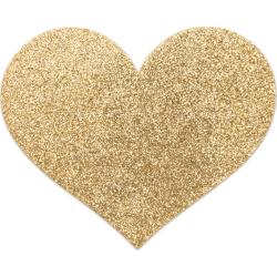 Copricapezzoli Bijoux Indiscrets Flash Heart Oro