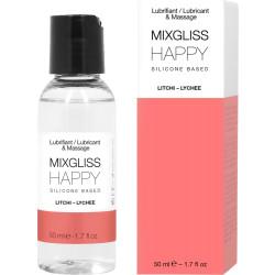Lubrificante Silicone Happy Litch 50 ml Mixgliss