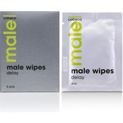 Salviettine ritardanti maschili Wipes Delay Cobeco Pharma