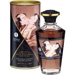Shunga Aphrodisiac Oil Chocolate - olio da massaggio edibile