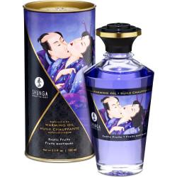 Shunga Aphrodisiac Oil Exotic Fruits - olio da massaggio edibile