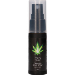 Spray ritardante per lui CBD Infused - Cannabis Delay Spray Shots