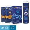 Kit Extra Large Control - 24 pezzi + 1 lubrificante