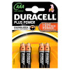 Duracell Plus Power AAA - 4 batterie LR03 MN2400