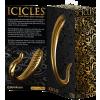 Pipedream Icicles G03 Gold Edition - dildo in vetro