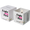 Candela da massaggio Light My Fire Muschio Bianco Love to Love