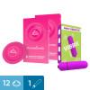 Kit preservativi stimolanti e bullet vibrante Kit Stimulating Vibes Love Match