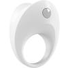 OVO B10 - anello fallico vibrante bianco