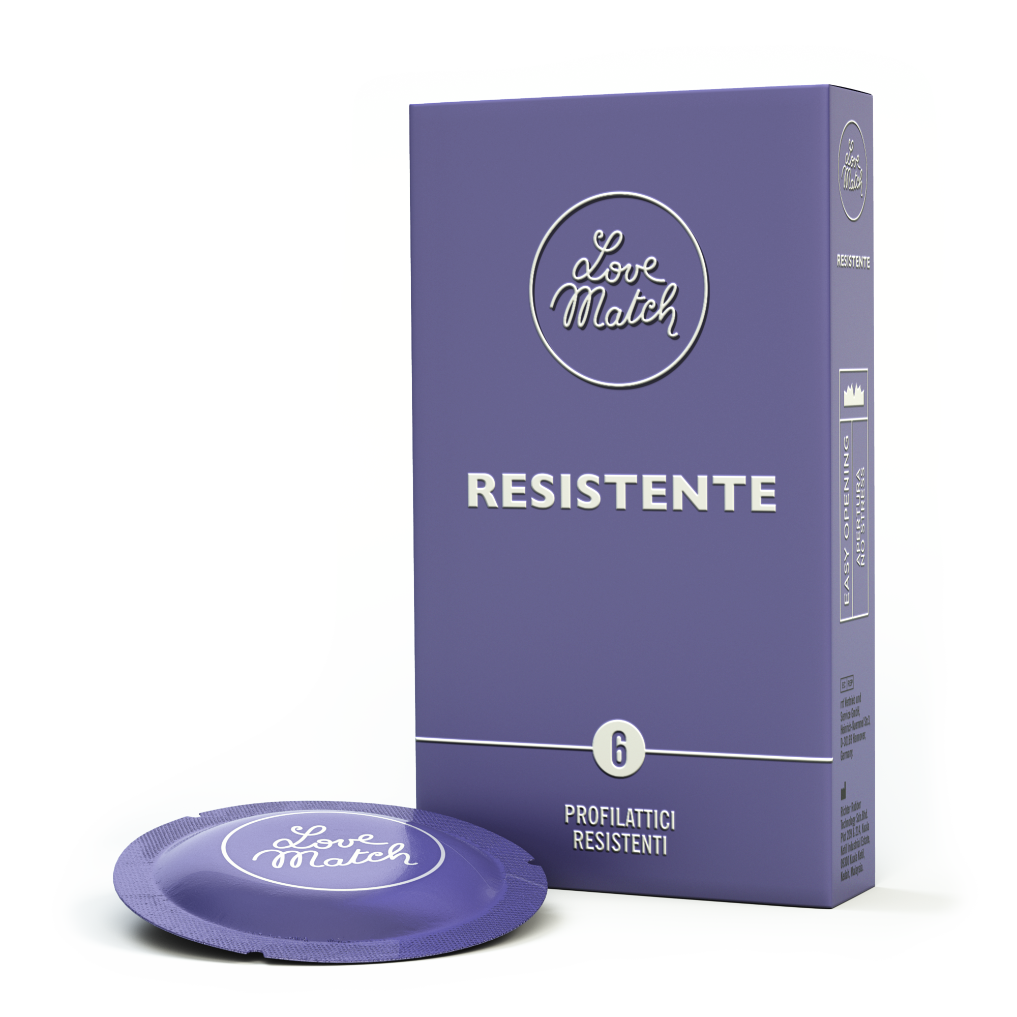 Love match love match resistente - 6 pezzi - preservativi resistenti